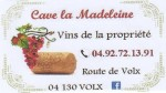 cave Madeleine