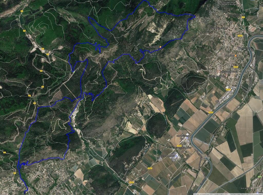 parcours 23 km sat