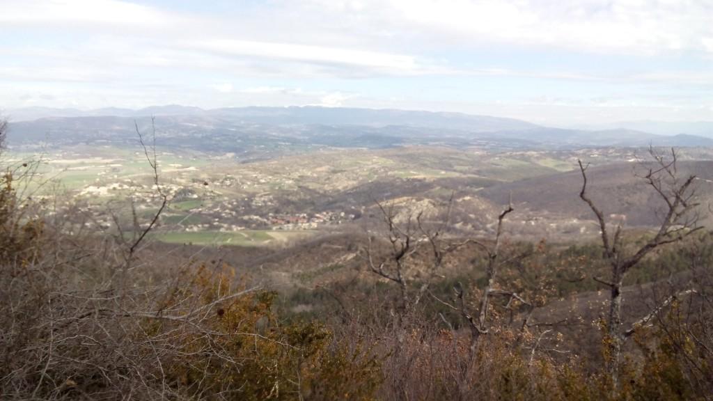 vue sur vallée saint maime